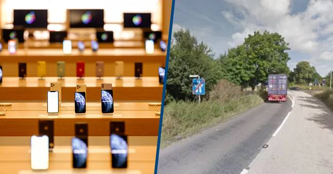 £5 Million Of Apple Products Stolen From Lorry During Motorway Robbery