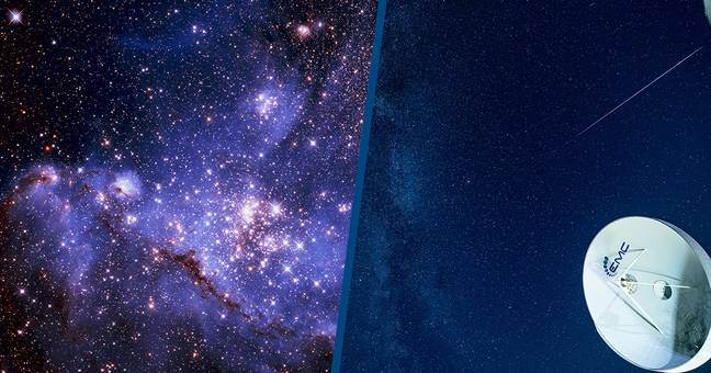 Mysterious Radio Signal Coming From Inside Our Galaxy