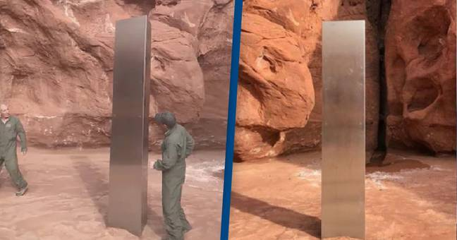 Theories Emerge Over Mysterious Metal Monolith Discovered In Utah Desert