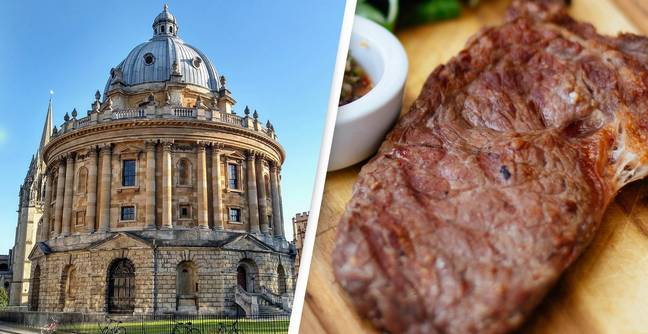 Oxford University Students Vote To Ban Beef And Lamb At Campus Canteens
