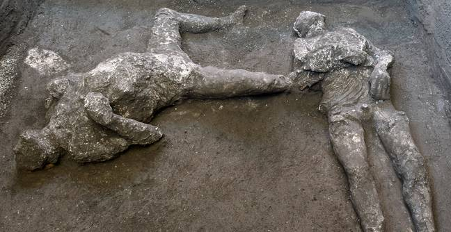 Archaeologists Uncover Remains Of Rich Man And His Slave Killed By Vesuvius