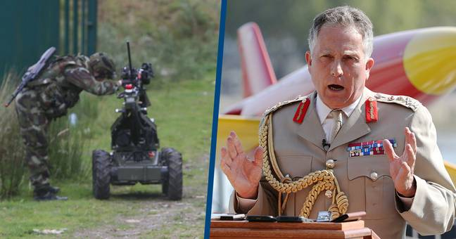 Thousands Of Robot Soldiers Could Be Fighting In British Army Soon, Says Military Chief