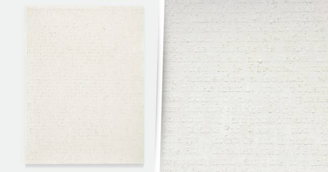 Painting That Looks Like Blank Canvas Eyes Up £2.6 Million Price Tag