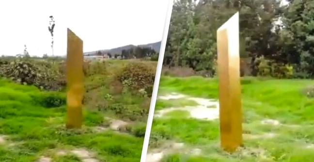 Golden Monolith Has Been Found In Colombia