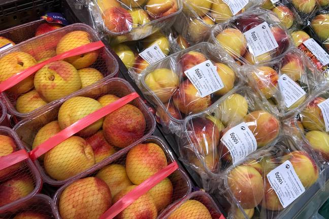 Fruit in foil packaging (Pa Images)
