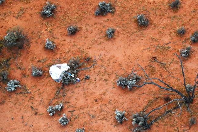 Capsule With Asteroid Sample Finally Lands On Earth After 6 Years And Millions Of Miles