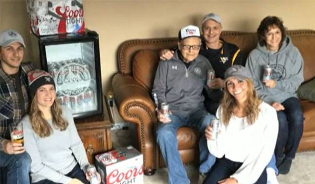 WWII Veteran Who Just Turned 103 Says It's Because He Drinks Beer Every Day