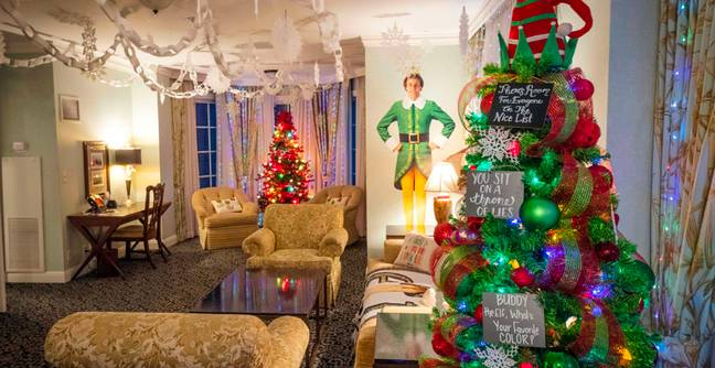 Elf Fans Can Stay In Hotel Suite Inspired By The Iconic Christmas Movie