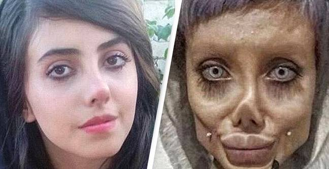 Iranian 'Zombie Angelina Jolie' Instagram Star Sentenced To 10 Years In Prison