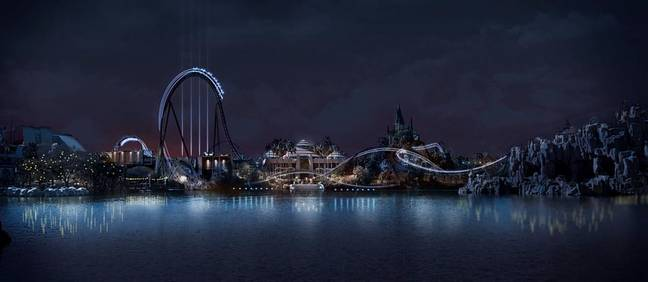 Universal Gives First Look At Jurassic World Roller Coaster