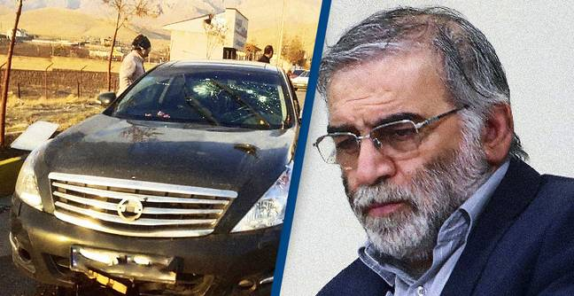 Iran Claims Assassinated Nuclear Scientist Was Shot By Satellite-Controlled Machine Gun