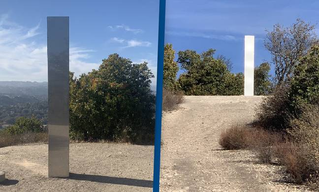 Third Mysterious Monolith Has Now Appeared In California