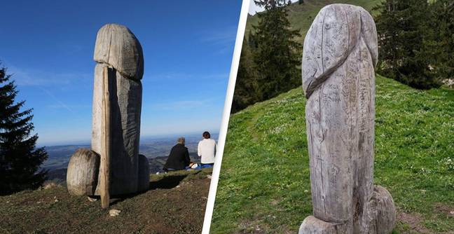 Giant Phallic Monument In Germany Mysteriously Disappears