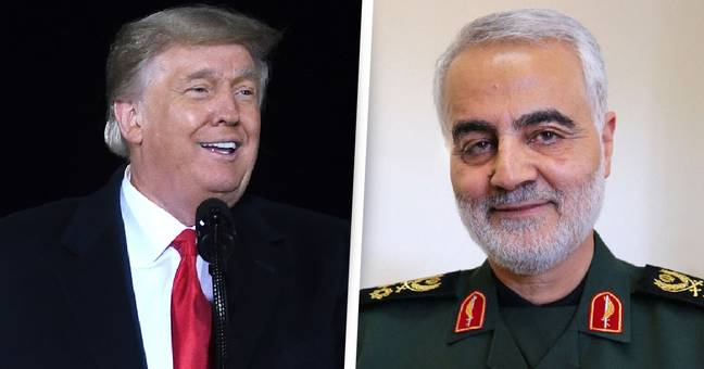Iran Issues Trump With Second Arrest Warrant Over Drone Strike That Killed Commander