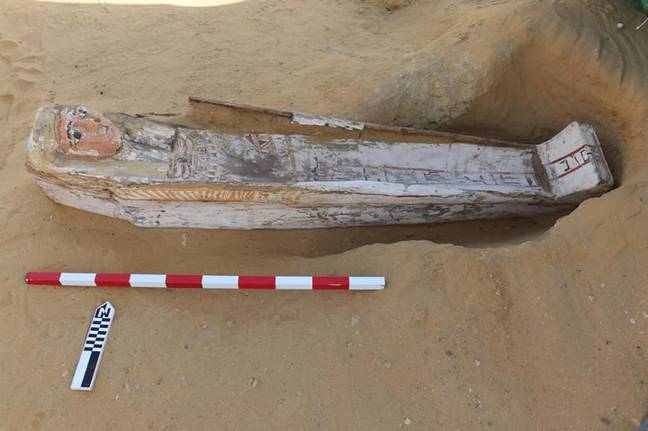 Coffins uncovered in Egypt