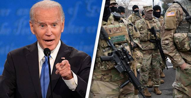 Two National Guardsmen Removed From Biden Inauguration Security For Far Right Militia Ties