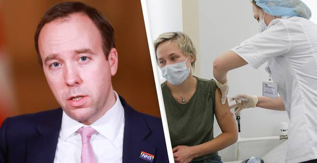 One In Nine Brits Have Had First Vaccine Dose, Matt Hancock Confirms
