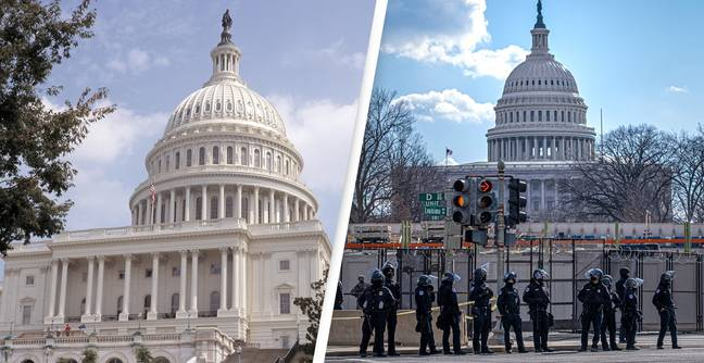 71-Year-Old Armed Man With 20 Rounds Of 9mm Ammo Arrested Near US Capitol