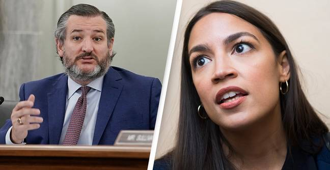 Alexandria Ocasio-Cortez Refuses To Work With Ted Cruz Because He 'Almost Had Her Murdered Three Weeks Ago'