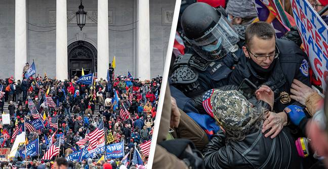 New Evidence Shows How Mob Brutally Attacked Police On Day Of Capitol Riot