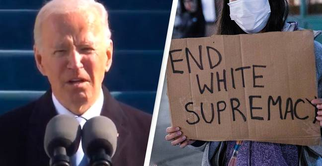 Inauguration Day: Joe Biden Promises To Defeat White Supremacy And Domestic Terrorism