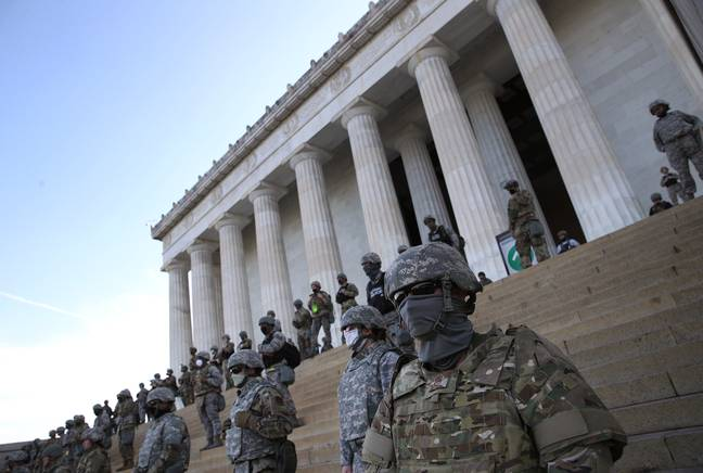 Police Response To Washington's Black Lives Matter Protesters Starkly Different To Capitol Riot