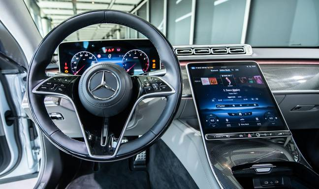 World premiere of the new S-Class from Mercedes-Benz
