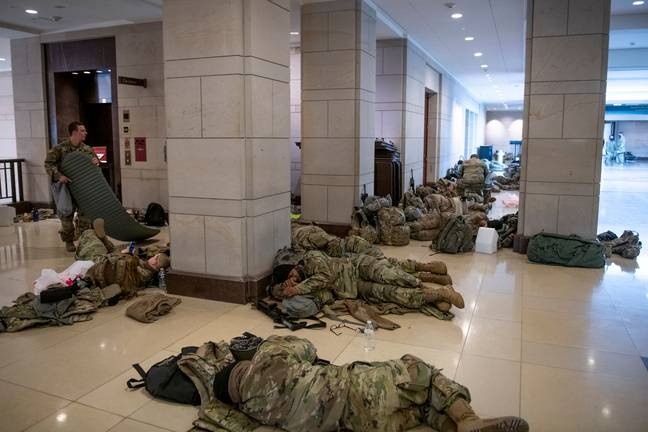 More Than 150 National Guard Members Deployed To DC Test Positive For Coronavirus