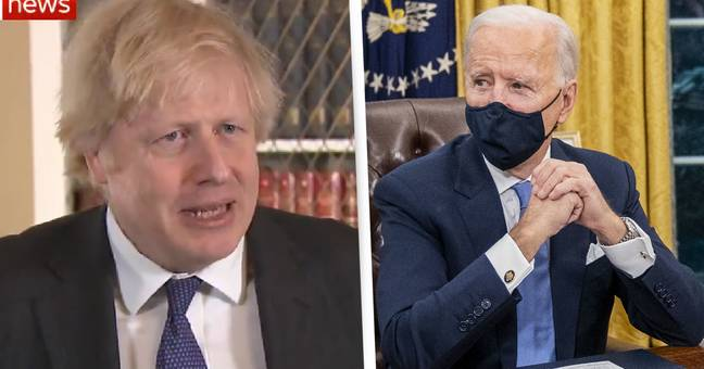 Boris Johnson Says 'There's Nothing Wrong With Being Woke' When Asked About Joe Biden