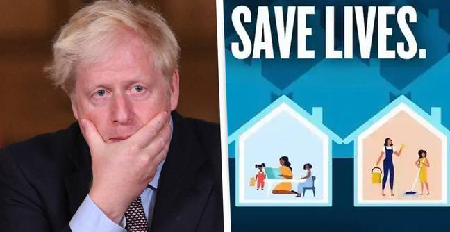 Downing Street Pulls 'Sexist' COVID Ad Showing Only Women Doing Chores