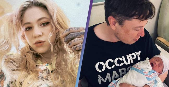 Grimes Gave Her And Elon Musk's Baby A Haircut And It's Getting Ridiculed