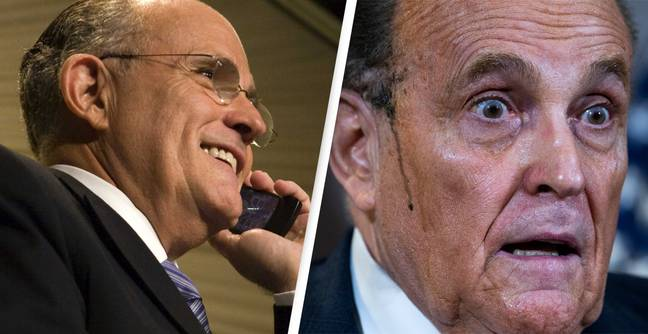 Giuliani Leaves Voicemail Asking To 'Slow Down' Count On Wrong Person's Phone