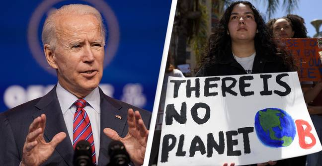 Biden Administration Will Rejoin Paris Agreement On Climate Change Today