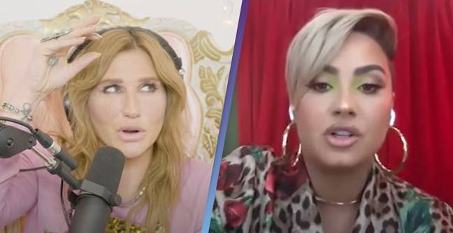Kesha Explains She's Summoning Aliens In Her Spare Time Because Of Demi Lovato