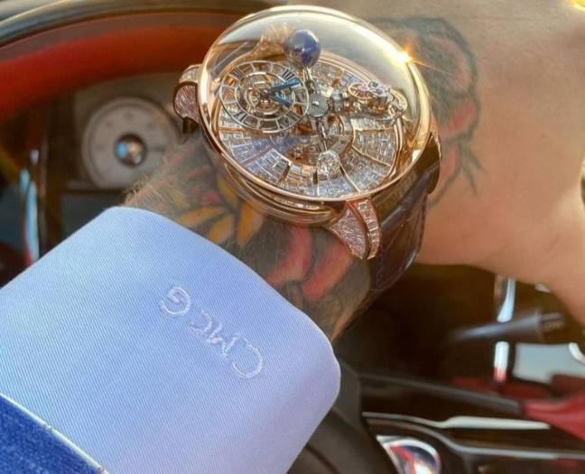 Conor McGregor Gets Roasted For Showing Off $1 Million Diamond Watch