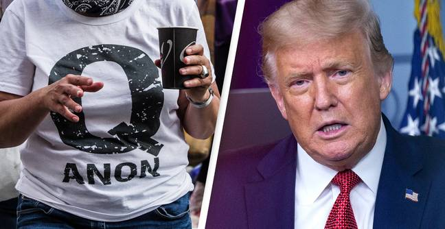 QAnon Followers Turn To Online Support Groups After Trump Leaves Office