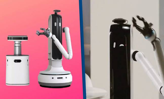 Samsung Unveils Robots That Will Clean Your House And Pour Your Wine