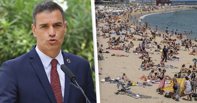 Spain Bans British Tourists Until 70% Of Population Is Vaccinated