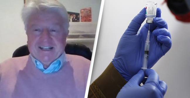 Stanley Johnson Getting Second Dose Of COVID Vaccine Today