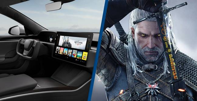Redesigned Tesla Model S Features Entertainment System Powerful Enough To Play The Witcher 3
