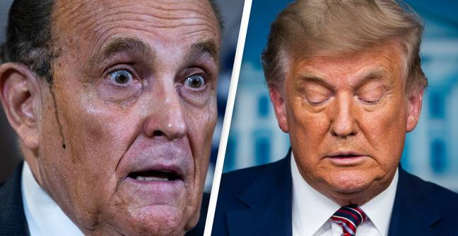 Giuliani Realises He Can't Be Trump's Impeachment Lawyer Because He's Witness In Case