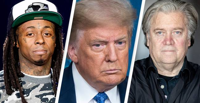 Trump Pardons Lil Wayne, Steve Bannon, And More Than 70 Others On Final Day
