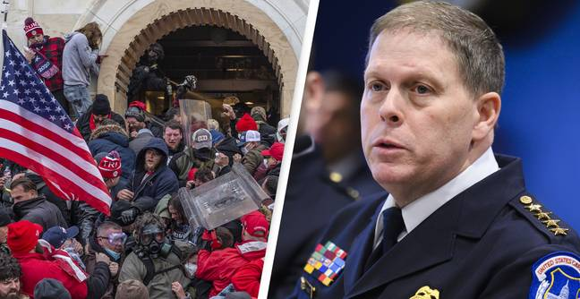 US Capitol Police Chief Steven Sund Resigning Following Pro-Trump Riots