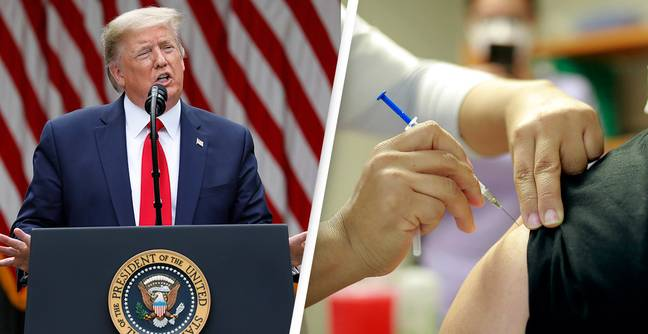 Trump Administration Bailed Out Anti-Vaxxer Groups During Pandemic