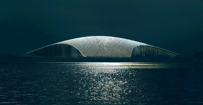 Norway Is Opening A Whale-Watching Museum In The Shape Of A Whale Fin