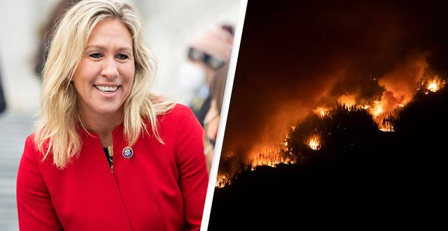 Marjorie Taylor Greene Spread Conspiracy Theory That 'Space Laser' Started California Wildfire