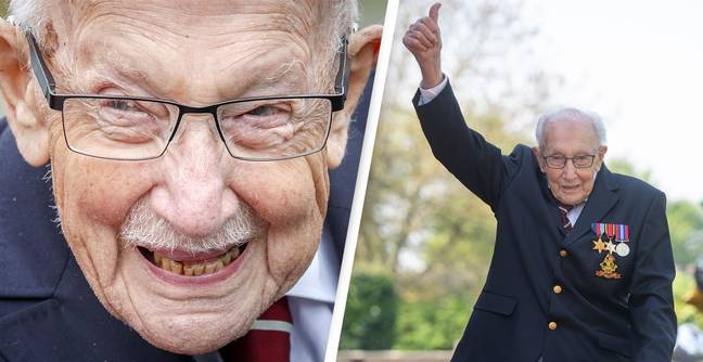 Sir Captain Tom Moore Has Died Aged 100