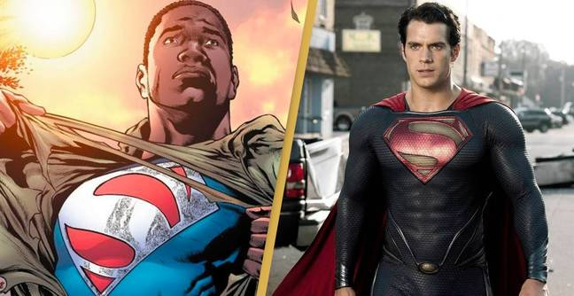 Superman Reboot Will Reportedly Star A Black Man Of Steel