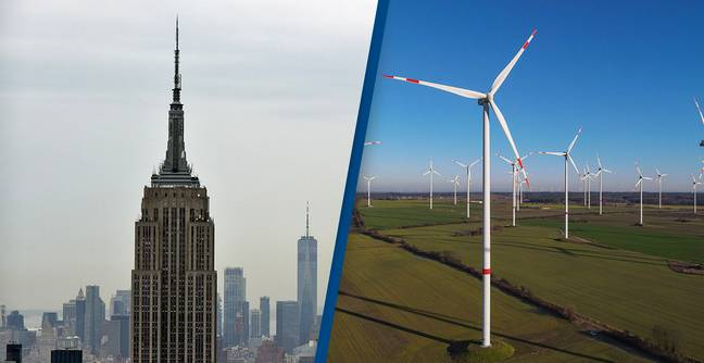 The Empire State Building Is Now Entirely Powered By Wind
