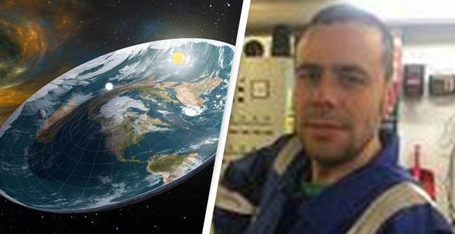 Annoyed Man Raising £250,000 To Send Flat Earther Into Space To Prove Earth Is Round